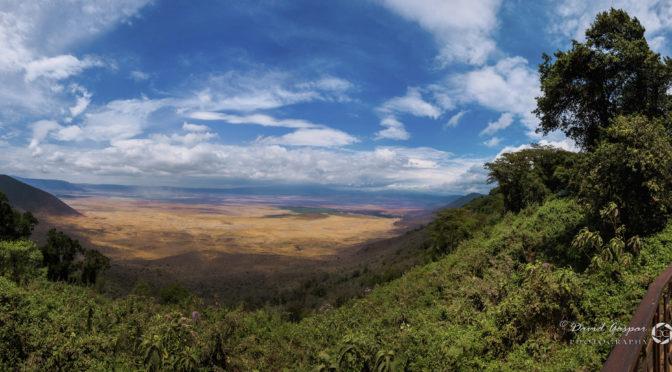 El cràter del NgoroNgoro